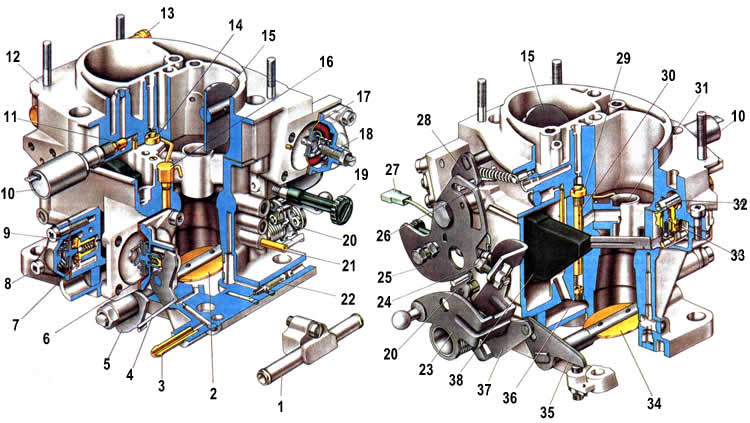 Схема устройства 21053