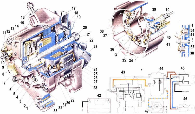 Генератор ЛАДА 2107 (ВАЗ 2107)