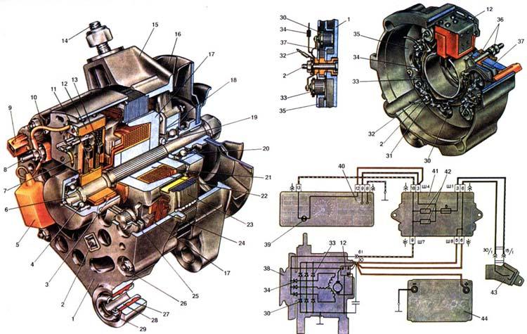 Генератор ЛАДА 2108 (ВАЗ 2108)