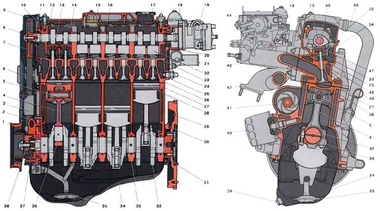 Двигатель 2110 ЛАДА 2110 (ВАЗ